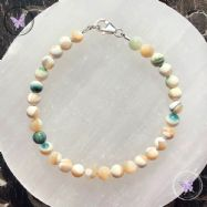 Classical Mother Of Pearl Healing Bracelet